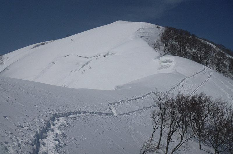 3月 越前大日岳