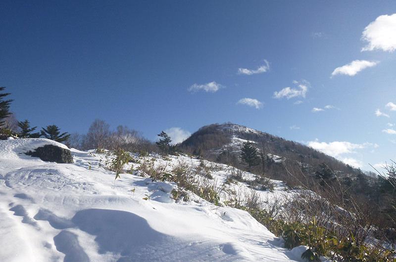 西尾根から飯綱山 12月